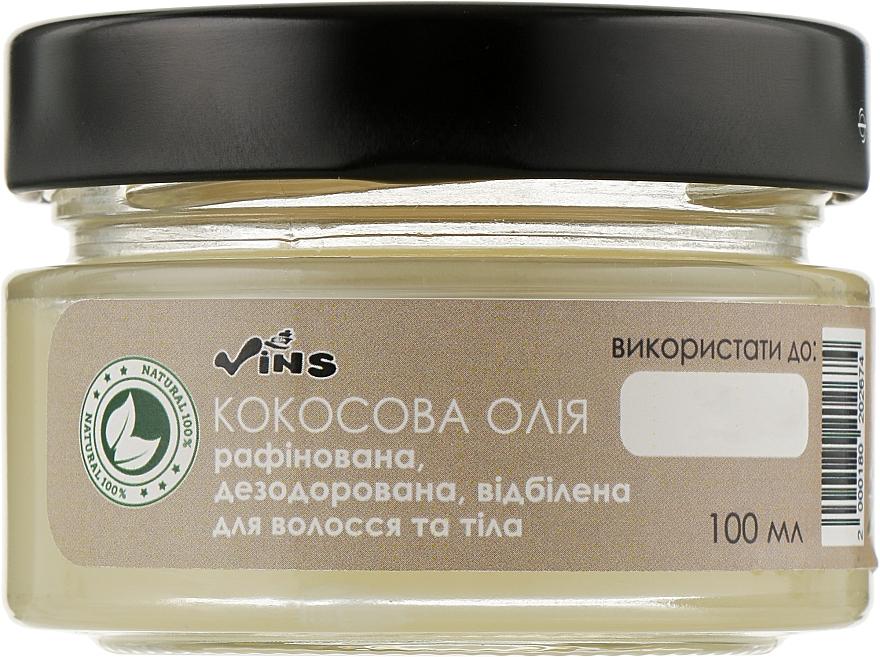 Кокосовое масло рафинированное дезодорированное отбеленное - Vins