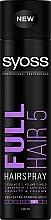 "Духи, Парфюмерия, косметика Лак для волос экстрасильной фиксации ""Густота и объем"" - Syoss Full Hair 5 Hairspray"