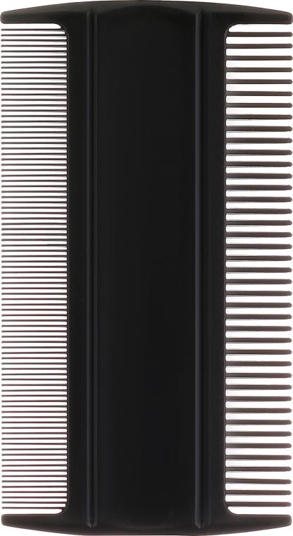 Гребень гигиенический для волос 1598, черный - Top Choice