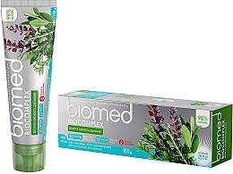 """Духи, Парфюмерия, косметика Антибактериальная зубная паста для долгой свежести дыхания """"Мята"""" - Biomed Biocomplex"""