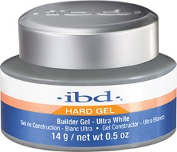 Духи, Парфюмерия, косметика Гель конструирующий для ногтей ультрабелый - IBD Builder Ultra White Gel