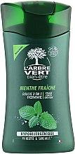 Духи, Парфюмерия, косметика Крем-гель для душа для мужчин с экстрактом свежей мяты - L'Arbre Vert Cream Shower Gel