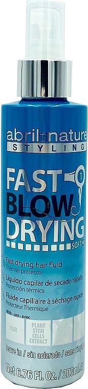 Двухфазный спрей для выпрямления - Abril et Nature Advanced Stiyling Curl Fast Blow Drying Fluid