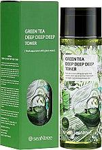 Духи, Парфюмерия, косметика Тонер с зеленым чаем - SeaNtree Green Tea Deep Deep Deep Toner