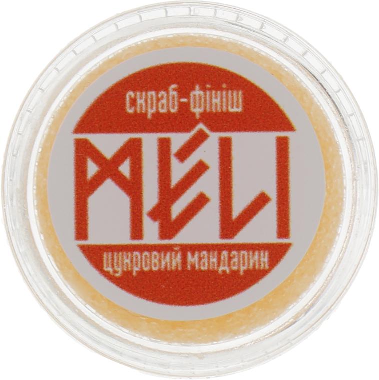 """Скраб-финиш для губ """"Сахарный мандарин"""" - Meli NoMoreStress — фото N2"""