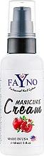 "Духи, Парфюмерия, косметика Увлажняющий крем для рук и кутикулы ""Гранат"" - Fayno Manicure Cream"