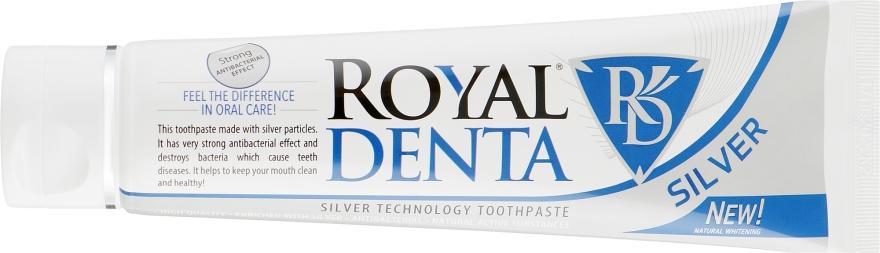 Зубна паста з сріблом - Royal Denta Silver Technology Toothpaste — фото N2