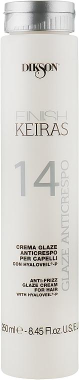 Глазурь для распутывания волос, термозащита - Dikson Finish Keiras Glaze Anticrespo 14