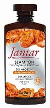 Духи, Парфюмерия, косметика Шампунь для окрашенных волос с экстрактом янтаря - Farmona Jantar Shampoo With Amber Extract For Dyed Color Hair