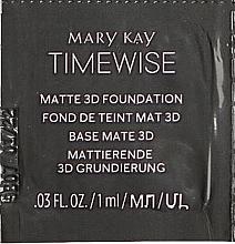 Парфумерія, косметика Матова тональна основа - Mary Kay Timewise Matte 3D Foundation (пробник)