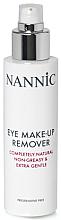 Духи, Парфюмерия, косметика Средство для снятия макияжа с глаз - Nannic Eye Make-Up Remover