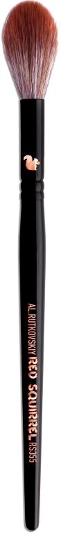 Кисть для румян, хайлайтера, бронзера RS355 - Al.Rutkovskiy Highlight Brush