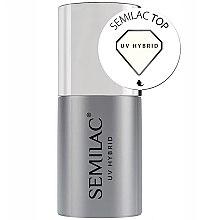 Духи, Парфюмерия, косметика Топ для гель-лака - Semilac UV Hybrid