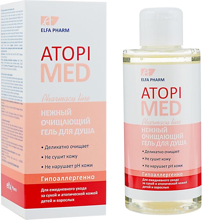 Нежный очищающий гель для душа - Elfa Pharm Atopi Med Shower Gel