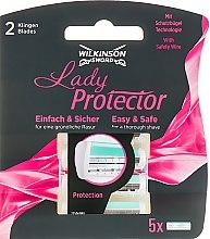 Духи, Парфюмерия, косметика Сменные кассеты для бритья, 5шт. - Wilkinson Sword Lady Protector