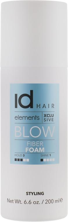 Волоконный мусс для укладки феном - idHair Elements Xclusive Fiber Foam