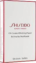Духи, Парфюмерия, косметика Салфетки очищающие - Shiseido Pureness Oil-Control Blotting Paper