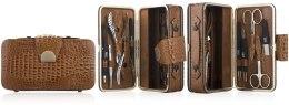 Духи, Парфюмерия, косметика Маникюрный набор 10 предметов, MS-167, чемодан - Zauber
