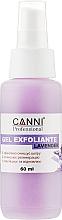 Духи, Парфюмерия, косметика Гель-эксфолиант лаванда - Canni Gel Exfoliant Lavender