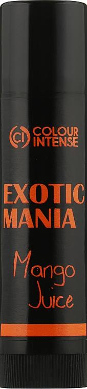 "Бальзам для губ ""Exotic Mania"" с ароматом манго - Colour Intense Lip Balm"