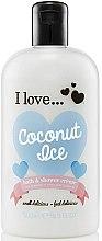 Духи, Парфюмерия, косметика Крем для душа и пена для ванны - I Love... Coconut Ice Bath and Shower Creme