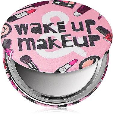 Зеркало косметическое круглое, You Are Amazing - Lily Cosmetics — фото N1
