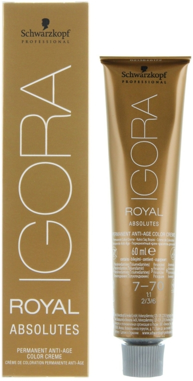 Краска для седых волос - Schwarzkopf Professional Igora Royal Absolutes