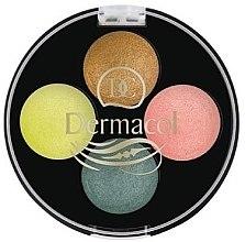 Духи, Парфюмерия, косметика Тени для век - Dermacol Quattro Baked Eye Shadow