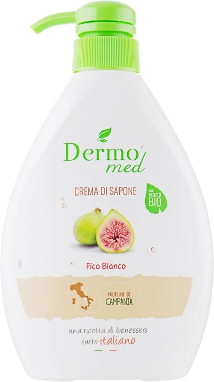 "Крем-мыло ""Белый инжир"" - Dermomed Fico Bianco Cream Soap"