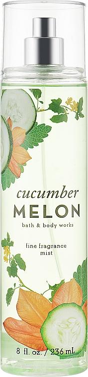 Парфюмированный спрей для тела - Bath and Body Works Cucumber Melon