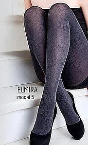 """Колготки для женщин """"Elmira Model 5"""" 100 Den, deep spruce - Giulia"""