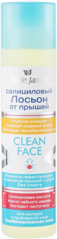 Салициловый лосьон от прыщей с экстрактом чистотела - Belle Jardin Clean Face Lotion