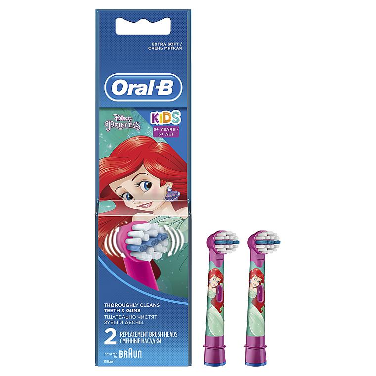 Сменная насадка для детской зубной щетки, 2шт - Oral-B Stages Power