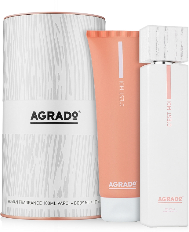 Agrado C'est Moi - Набор (edt/100 ml + b/lot/100 ml)