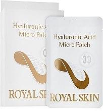 Гиалуроновые мезо-патчи - Royal Skin Hyaluronic Acid Micro Patch — фото N1