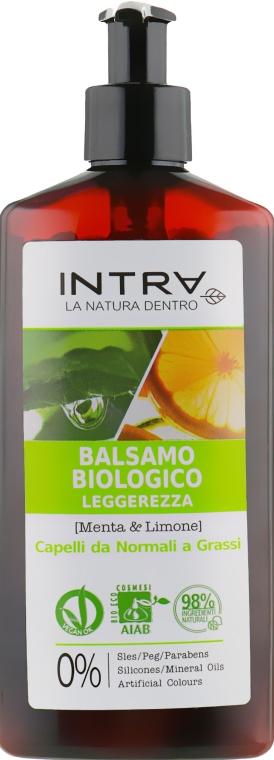 Очищающий кондиционер - Intra Mint & Lemon