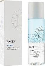 Духи, Парфюмерия, косметика Средство для снятия макияжа глаз и губ водостойкое - The Face Shop Face-it White Lip & Eye Remover