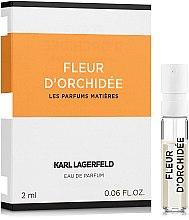 Духи, Парфюмерия, косметика Karl Lagerfeld Fleur D'Orchidee - Парфюмированная вода (пробник)