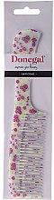 Духи, Парфюмерия, косметика Гребень для волос 21.6 см, 9811, разноцветный в цветы - Donegal Floral Hair Comb