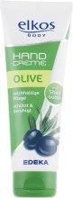 Духи, Парфюмерия, косметика Восстанавливающий крем для рук - Elkos Body Olive Hand Cream