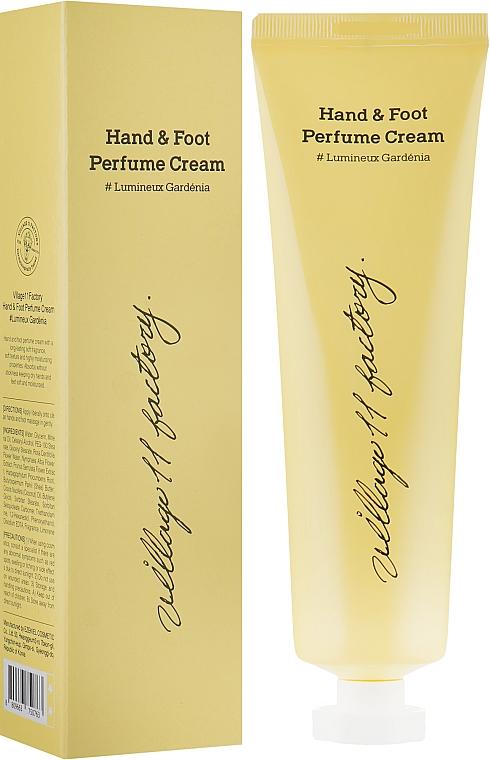 """Парфюмированный крем для рук и ног """"Гардения"""" - Village 11 Factory Perfume Hand & Foot Cream Lumineux Gardénia"""