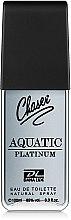 Духи, Парфюмерия, косметика Chaser Aquatic Platinum - Туалетная вода
