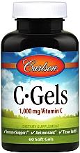 Духи, Парфюмерия, косметика Витамин C, 1000мг - Carlson Labs C-Gels Vitamin C