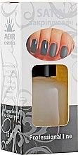 """Матовое покрытие для ногтей """"Сатин"""" - Avenir Cosmetics Satin Top — фото N1"""