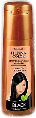 Шампунь для волос - Venita Henna Color Black Shampoo