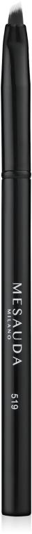 Скошенная кисть для подводки - Mesauda Milano Angled Eyeliner Brush 519