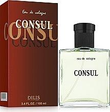 Духи, Парфюмерия, косметика Dilis Parfum Eau de Cologne Consul - Одеколон