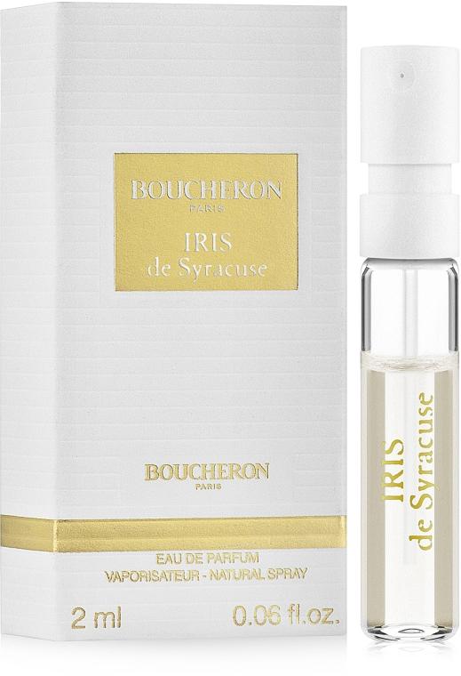 Boucheron Iris De Syracuse - Парфюмированная вода (пробник)
