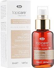 Духи, Парфюмерия, косметика Масло для блеска волос - Lisap Top Care Repair Elixir Care Shining Oil