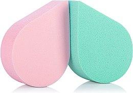 Духи, Парфюмерия, косметика Спонж для макияжа, 35814, зеленый+розовый - Top Choice